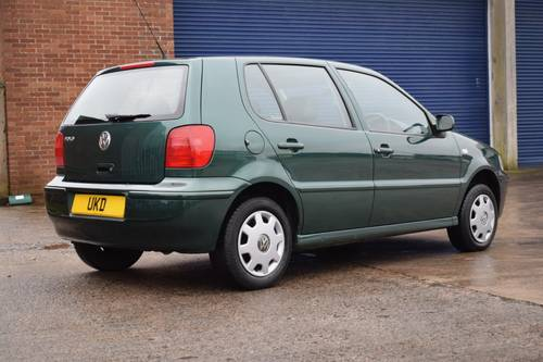 VW VOLKSWAGEN POLO 1.4 MATCH 5DR GREEN 2000  SOLD (picture 3 of 6)