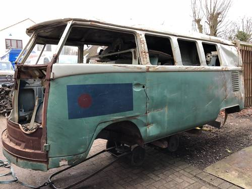 1965 VW Split screen Camper Bus Van Patina Project For Sale (picture 1 of 6)