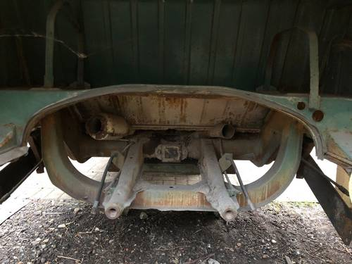 1965 VW Split screen Camper Bus Van Patina Project For Sale (picture 4 of 6)