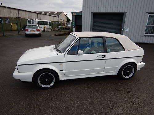 1989 VW GOLF Mk1 1.8 GTi Cabriolet ~  SOLD (picture 1 of 6)