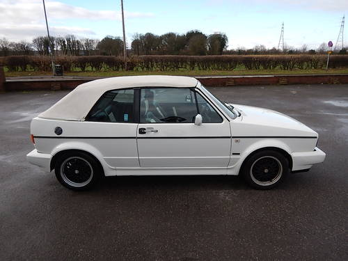 1989 VW GOLF Mk1 1.8 GTi Cabriolet ~  SOLD (picture 3 of 6)