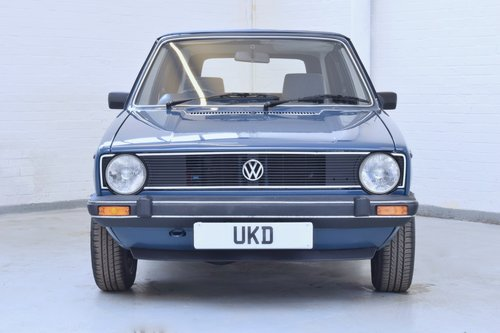 VW VOLKSWAGEN GOLF MK1 KARMANN CABRIOLET BLUE 1983 1.5 GL SOLD (picture 2 of 6)