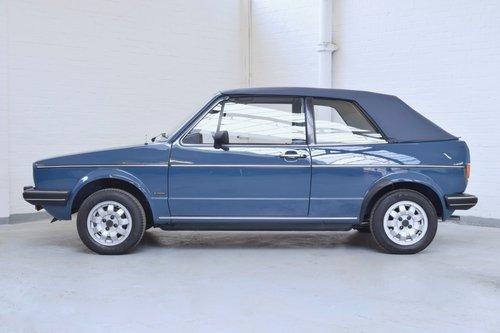 VW VOLKSWAGEN GOLF MK1 KARMANN CABRIOLET BLUE 1983 1.5 GL SOLD (picture 3 of 6)