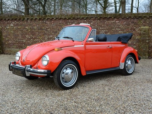 1978 Volkswagen Beetle Convertible only 2.010miles !! For Sale (picture 1 of 6)