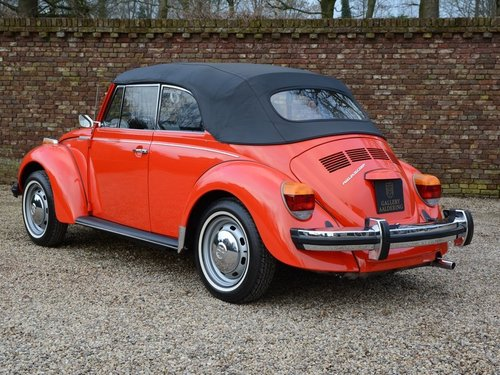 1978 Volkswagen Beetle Convertible only 2.010miles !! For Sale (picture 2 of 6)