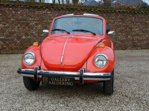 1978 Volkswagen Beetle Convertible only 2.010miles !! For Sale (picture 5 of 6)