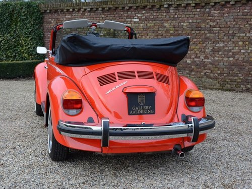 1978 Volkswagen Beetle Convertible only 2.010miles !! For Sale (picture 6 of 6)