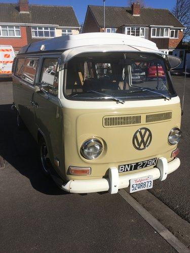 1972 VW westfalia T2 campervan For Sale (picture 1 of 6)