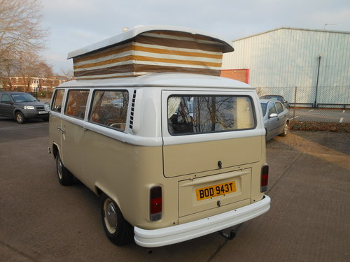 1979 VW Type 2 Devon Camper Beige/White with Tan trim SOLD (picture 2 of 6)