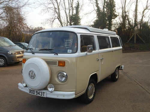 1979 VW Type 2 Devon Camper Beige/White with Tan trim SOLD (picture 3 of 6)