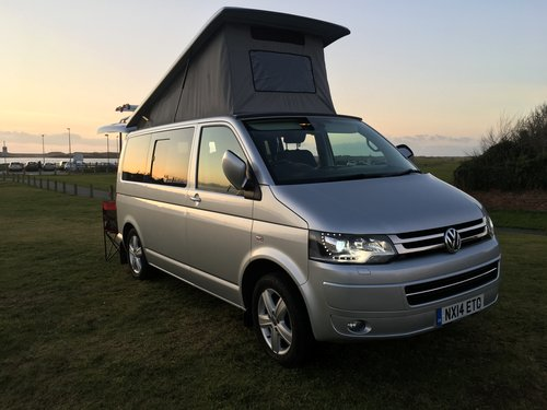 2014 Vw t5 rare example 180bhp bike rack awning dvds For ...