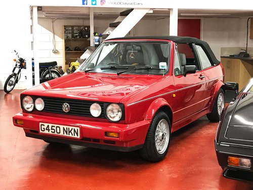 1989 VW Golf Clipper 1.8 -**NOW SOLD SIMILAR REQUIRED** For Sale (picture 4 of 6)
