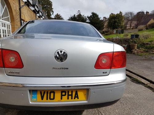 2006 PHAETON TDI V10 5 litre Private Plate V10 PHA SOLD (picture 4 of 6)