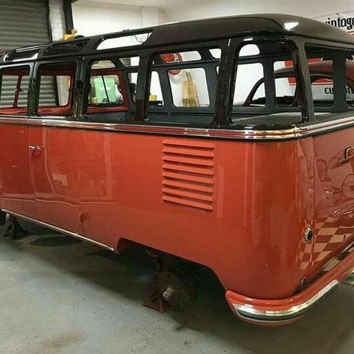 1963 VW Samba split-window re-creation top AAA quality like new! For Sale (picture 1 of 6)