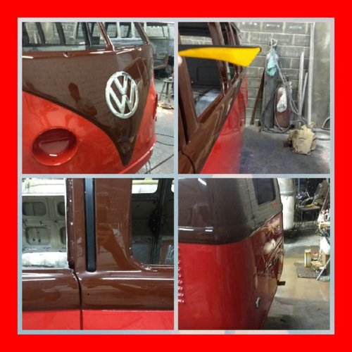 1963 VW Samba split-window re-creation top AAA quality like new! For Sale (picture 2 of 6)