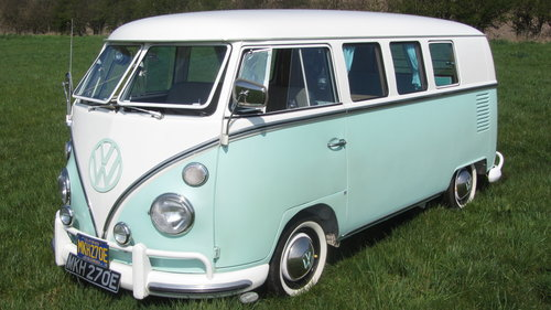 1967 Volkswagen Splitscreen Camper For Sale  SOLD (picture 1 of 6)