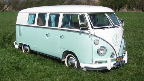 1967 Volkswagen Splitscreen Camper For Sale  SOLD (picture 2 of 6)