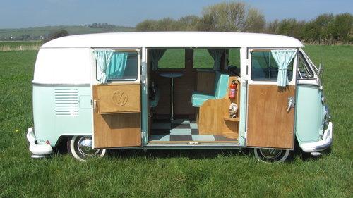 1967 Volkswagen Splitscreen Camper For Sale  SOLD (picture 3 of 6)