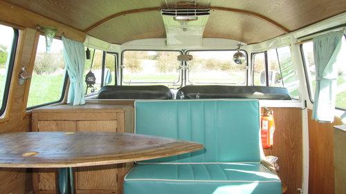 1967 Volkswagen Splitscreen Camper For Sale  SOLD (picture 4 of 6)