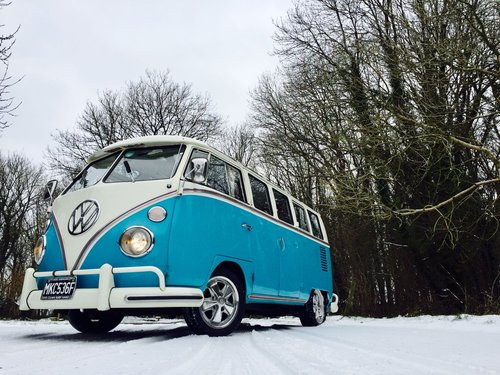 1967 Volkswagen Samba Splitscreen Devon Camper For Sale (picture 1 of 6)