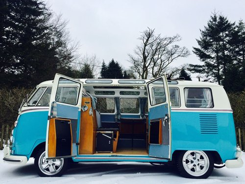 1967 Volkswagen Samba Splitscreen Devon Camper For Sale (picture 2 of 6)