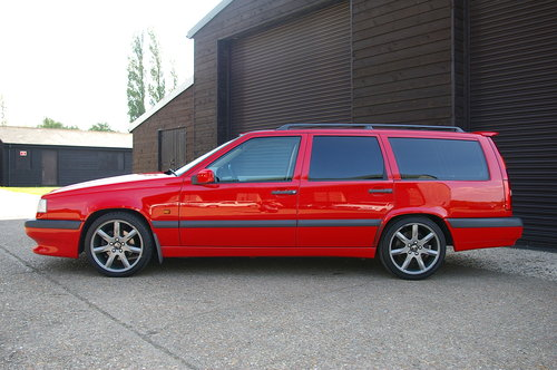 1996 Volvo 850 R 2.3 Estate Automatic (55,110 miles) SOLD (picture 1 of 6)