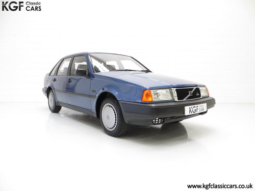 1992 An Exceptional Volvo 440 1.6Li with One Owner and 29,812 Mil SOLD (picture 1 of 6)
