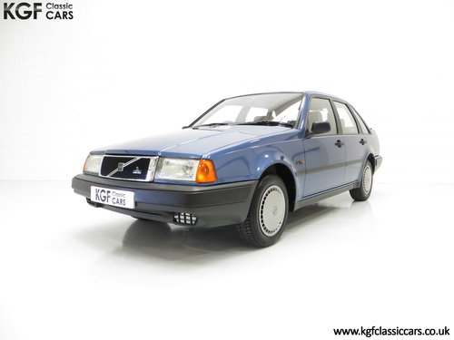 1992 An Exceptional Volvo 440 1.6Li with One Owner and 29,812 Mil SOLD (picture 2 of 6)