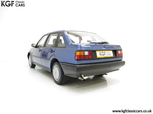 1992 An Exceptional Volvo 440 1.6Li with One Owner and 29,812 Mil SOLD (picture 4 of 6)
