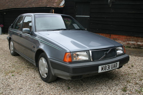 1993 rare volvo 440 xi hatch automatic barons classic auctions  For Sale (picture 1 of 6)