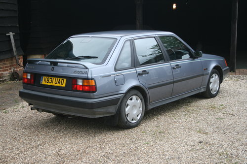 1993 rare volvo 440 xi hatch automatic barons classic auctions  For Sale (picture 2 of 6)
