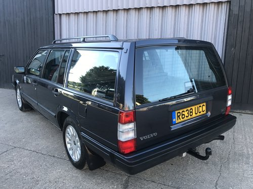 1997 Volvo 940 se auto 2.3 turbo 99k *16 service stamps** SOLD (picture 3 of 6)