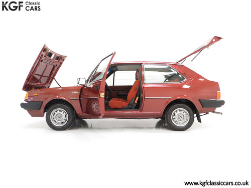 1982 An Astonishing Volvo 343 GL with Just 5,302 Miles from New SOLD (picture 3 of 6)