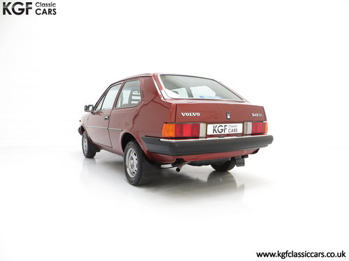 1982 An Astonishing Volvo 343 GL with Just 5,302 Miles from New SOLD (picture 4 of 6)
