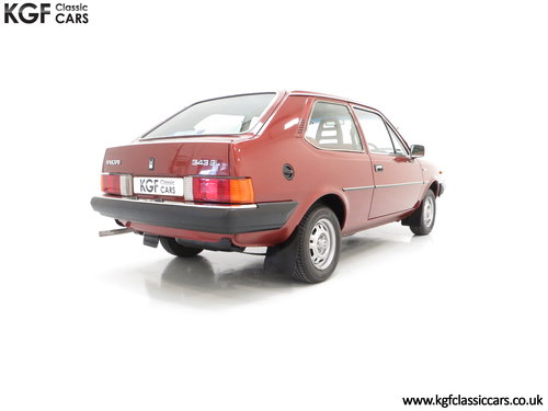 1982 An Astonishing Volvo 343 GL with Just 5,302 Miles from New SOLD (picture 5 of 6)