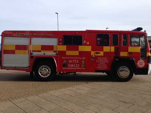 1992 Fire Engine Limousine 8 Seater Ideal for Parties & Proms For Sale (picture 3 of 6)
