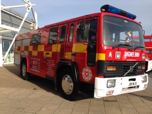 1992 Fire Engine Limousine 8 Seater Ideal for Parties & Proms For Sale (picture 6 of 6)