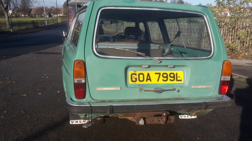 1972 volvo 145 estate ( rat look ) For Sale (picture 4 of 6)