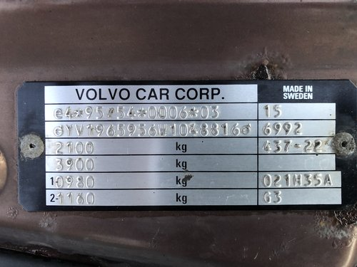 Volvo V90, 3L Petrol 1997 For Sale (picture 5 of 6)