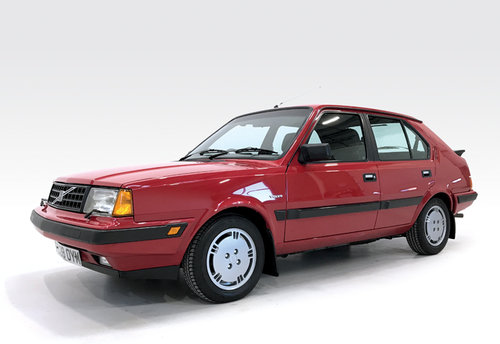 1988 Volvo 360 GLT with just 21,000 miles! SOLD (picture 1 of 6)