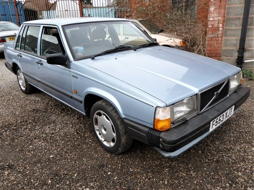 1989 VOLVO 740 SE AUTO 1 OWNER LOTS OF HISTORY SOLD (picture 1 of 6)