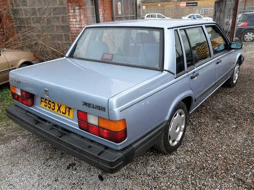 1989 VOLVO 740 SE AUTO 1 OWNER LOTS OF HISTORY SOLD (picture 4 of 6)
