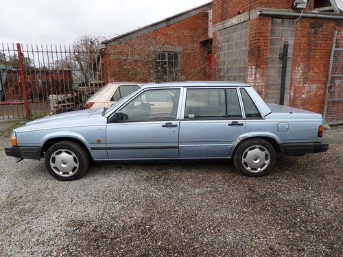 1989 VOLVO 740 SE AUTO 1 OWNER LOTS OF HISTORY SOLD (picture 5 of 6)