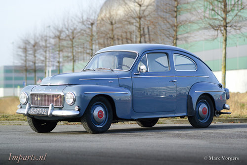 1964 Volvo PV544 (B18)  LHD For Sale (picture 1 of 6)