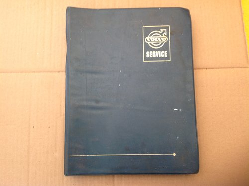 Volvo Amazon Factory Workshop Manual binder For Sale (picture 1 of 2)