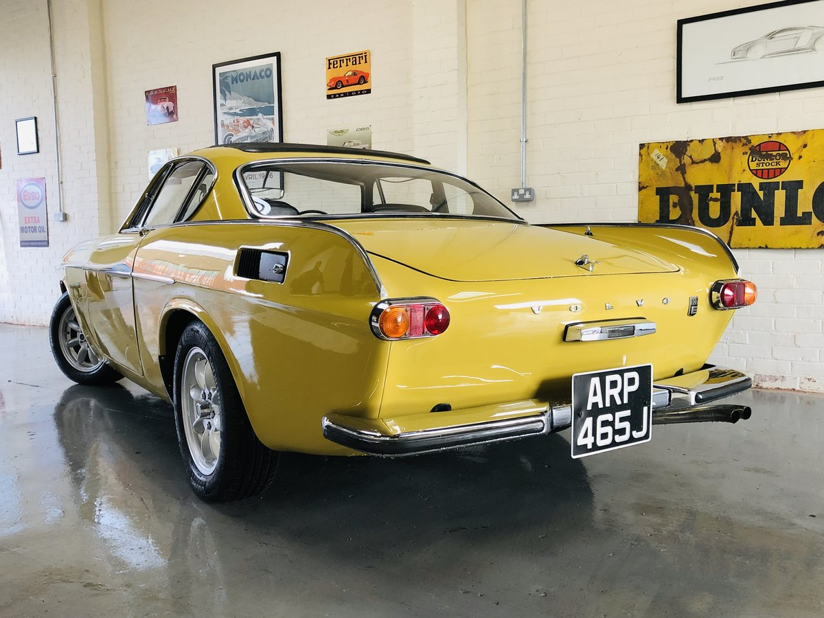 1971 VOLVO P1800E COUPE P1800 - STUNNING CONDITION SOLD (picture 2 of 6)