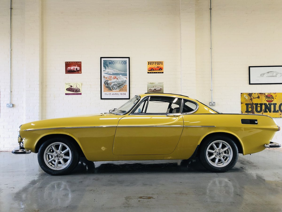 1971 VOLVO P1800E COUPE P1800 - STUNNING CONDITION SOLD (picture 3 of 6)