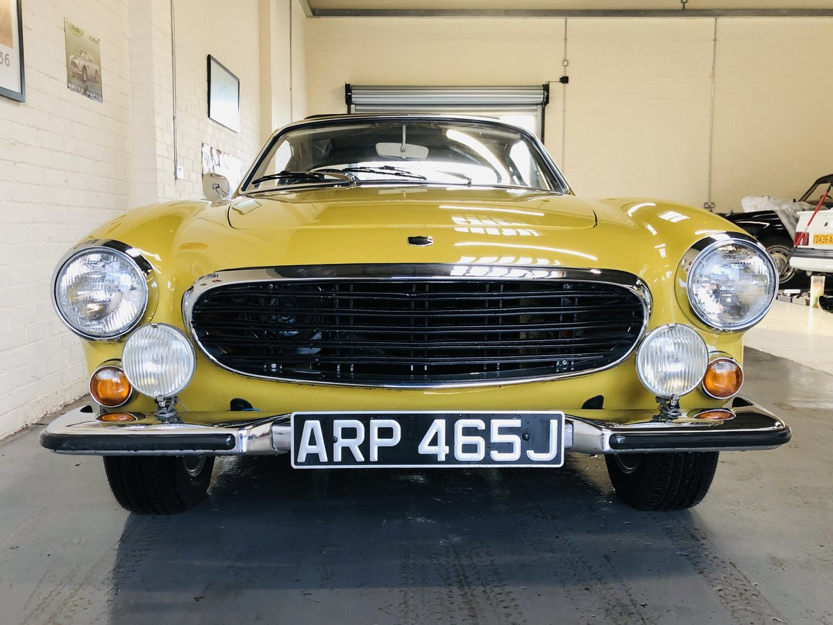 1971 VOLVO P1800E COUPE P1800 - STUNNING CONDITION SOLD (picture 4 of 6)