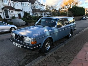 Volvo Classic 1981 245 GL Manual Blue For Sale