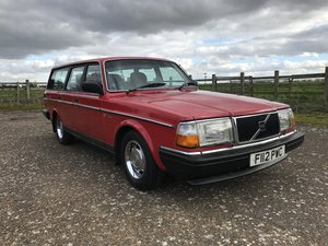 1989 Volvo 245GL For Sale